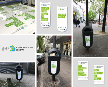 Moderne LED-Werbeanlagen
